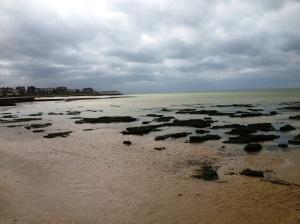 A bracing walk by the sea