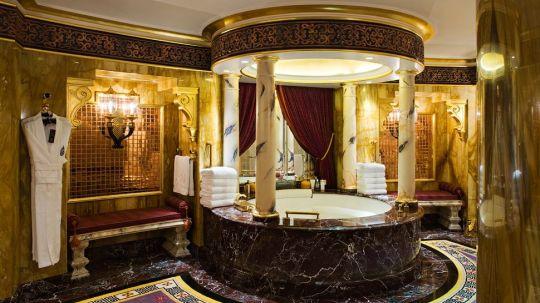 Royal Suite Bathroom, Burj Al Arab