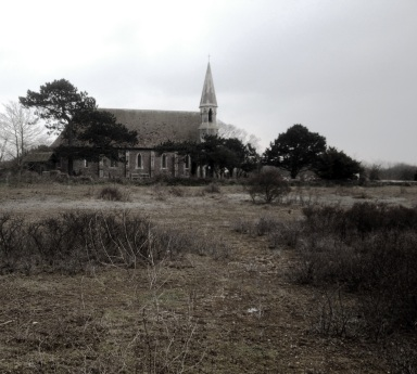 Church near Rye. Bleak innit.