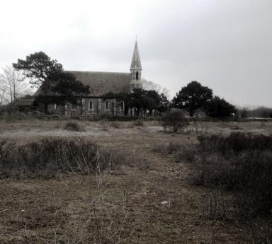 Church near Rye. Bleak innit.