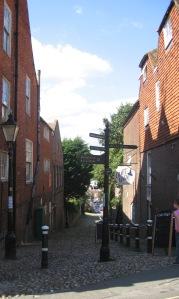 Rye signpost